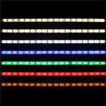 LED Streifen 50cm Alle Farben ; Wasserfest IP65 ; 30LEDs - Gr. 3528 ; 12V