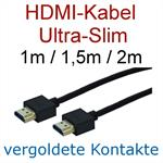 Premium 3D Ultra-Slim HDMI Cable Full-HD 1080p - HDMI Cable differnt lenghts