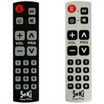 Universal remote control SeKi Easy Plus adaptive ; f. kids + seniors
