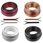 Audio Cable 10m - 2x4mm² - 100% CCA Copper
