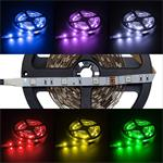 RGB LED Streifen / LED Strip 500cm 5m ; IP20 ; 150LEDs - Gr. 5050 ; 12V