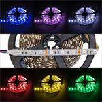RGB LED Streifen / LED Strip 500cm 5m ; IP20 ; 300LEDs - Gr. 5050 ; 12V