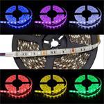 RGB LED Strip 500cm 5m ; IP65 ; 300LEDs - Size 5050 ; 12V