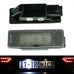 LED license plate light suitable for Peugeot