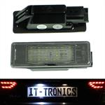 LED license plate light suitable for Citroen Berlingo