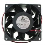 Ventilator / Fan 24V 12W 80x80x38mm 110m³/h 48dBA ; Delta Electr. FFB0824SHE