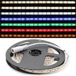 LED Strip 200cm All Colors ; Waterproof IP65 ; 120LEDs - Size 3528 ; 5V