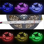 RGB LED Strip 500cm 5m ; IP20 ; 300LEDs - Size 5050 ; 24V