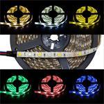 RGBWW RGB+WW 3000K LED Streifen / LED Strip 5m ; IP65 ; 300LEDs - Gr. 5050 ; 12V
