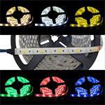 RGBW RGB+W 3000K LED Streifen / LED Strip 5m ; IP65 ; 300LEDs - Gr. 5050 ; 24V