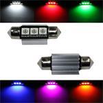 LED Soffitte 36mm Canbus + Kühlkörper 12V Soffittenlampe Festoon ; 2xLED