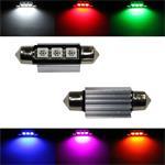 LED Soffitte 39mm Canbus + Kühlkörper 12V Soffittenlampe Festoon ; 2xLED