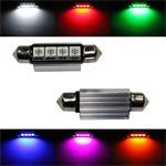 LED Soffitte 42mm Canbus + Kühlkörper 12V Soffittenlampe Festoon ; 2xLED