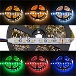 RGBW RGB+W 3000K LED Streifen / LED Strip 4in1 Chip 5m ; IP20 ; 300LEDs ; 24V