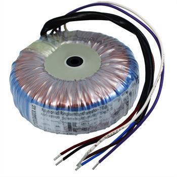 Ringkerntrafo 75VA 230V -> 2x15V / 1x30V ; Sedlbauer, RSO-825021
