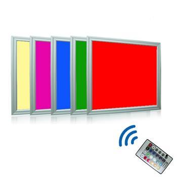 rgb led panel dimmbar ultraslim 30x30cm 10w 72 rgb leds. Black Bedroom Furniture Sets. Home Design Ideas
