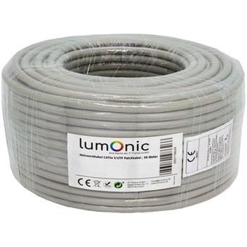 Netzwerkkabel CAT.5e 50m ; F/UTP ; CAT5 LAN Ethernet Kabel Verlegekabel