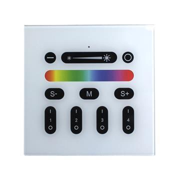 RGBW RGB+W Wand Touch Panel Controller ; RF RadioFrequenz ; passend für MiLight