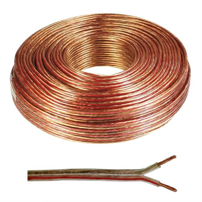 miniatura 9 - 25m Cables de altavoz 2x 1,5mm² Cable de audio Cable de la caja