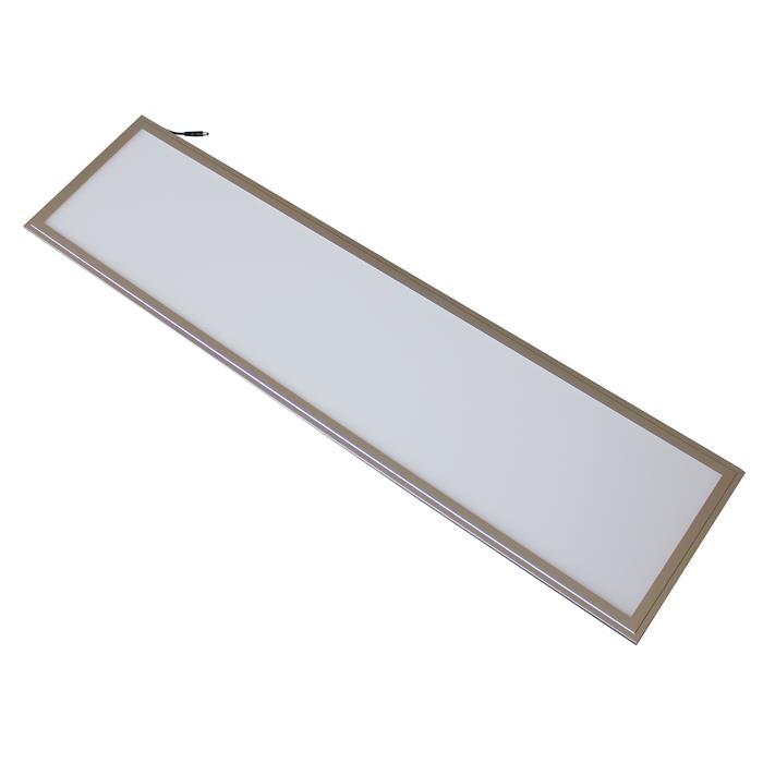 led panel ultraslim 120x30cm 40w 3250lm deckenlampe ebay. Black Bedroom Furniture Sets. Home Design Ideas
