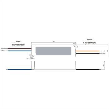 GPV-100-12 100W 12V 8,3A LED Netzteil IP67