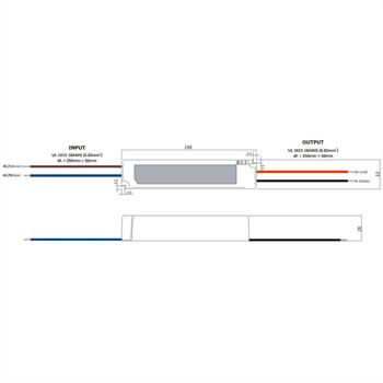 GPV-35-12 36W 12V 3A LED Netzteil IP67