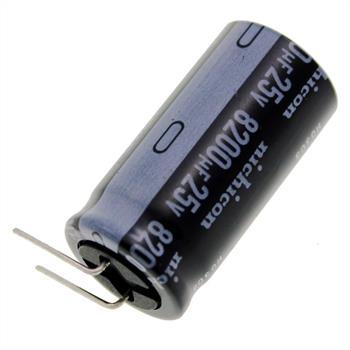 Elko rad. 8200µF 25V 105°C RM7,5 18x36mm