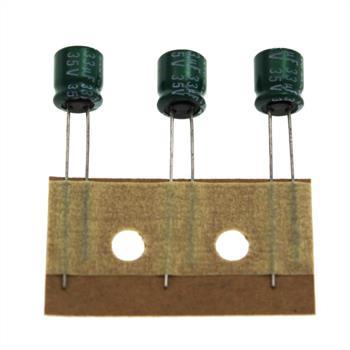 Elko Kondensator radial 33µF 35V 105°C ; E0900SAN00634 ; 33uF