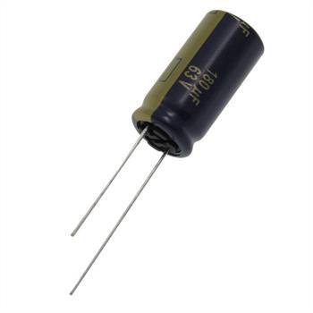 Elko Kondensator radial 180µF 63V 105°C ; EEUFC1J181 ; 180uF