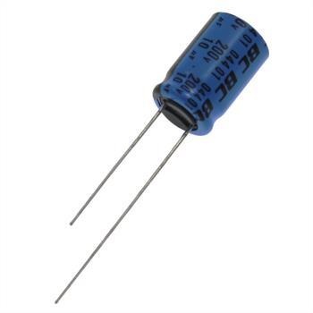 Elko Kondensator radial 10µF 200V 85°C ; 10uF