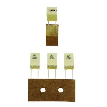 MKT-Capacitor rad. 1,5µF 63V DC ; 5mm ; RSBDC4150DQ10K ; 1,5uF