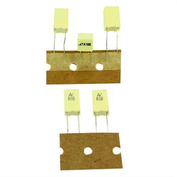 MKT-Kondens. rad. 0,47µF 100VDC RM5