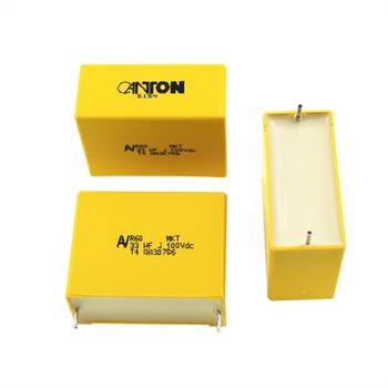 MKT-Kondens. rad. 33µF 100VDC RM37,5