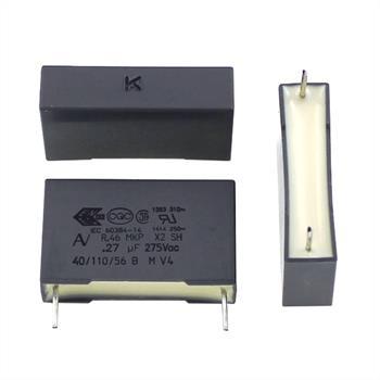 Entstörkondensator radial 0,27µF 275V AC ; RM22,5 ; R46KN32700001R ; 270nF