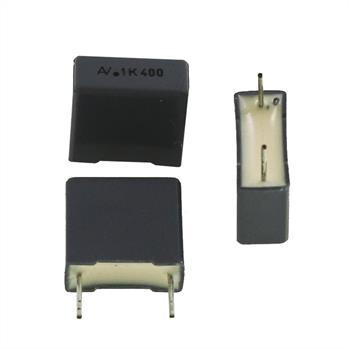 MKT-Kondens. rad. 0,1µF 400VDC RM10
