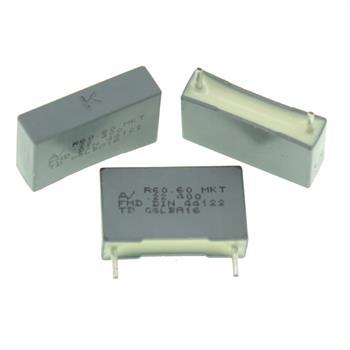 MKT-Kondens. rad. 0,22µF 400VDC RM15