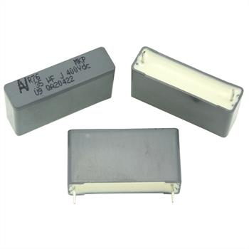 MKP-Kondens. rad. 0,35µF 400VDC RM27,5