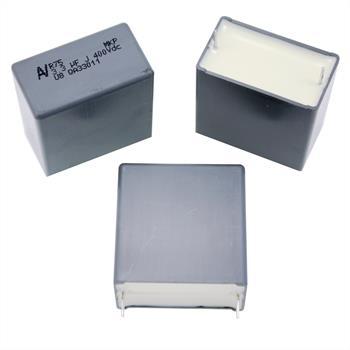 MKP-Kondens. rad. 3,3µF 400VDC RM27,5
