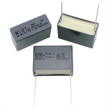 MKP-Kondens. rad. 1µF 400VAC RM27,5