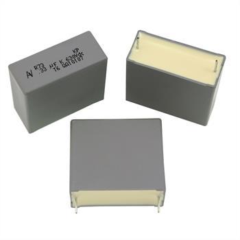 MKP-Kondens. rad. 0,33µF 630VDC RM27,5