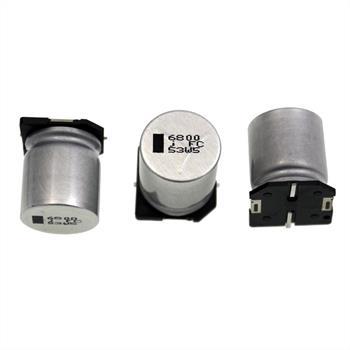 SMD Elko Kondensator 6800µF 6,3V 105°C ; EEVFC0J682M ; 6800uF