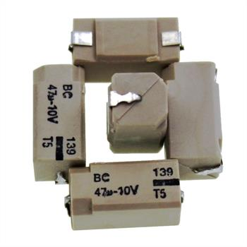 SMD Elko Kondensator 47µF 10V 85°C 222213990001 13x7x7mm 47uF