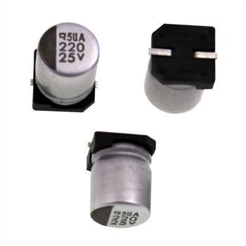 SMD-Elko 220µF 25V 85°C 8x10mm