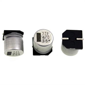 SMD-Elko 470µF 35V 85°C 12,5x14mm
