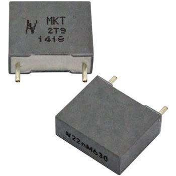 MKT-Kondens. rad. 22nF 630VDC RM10