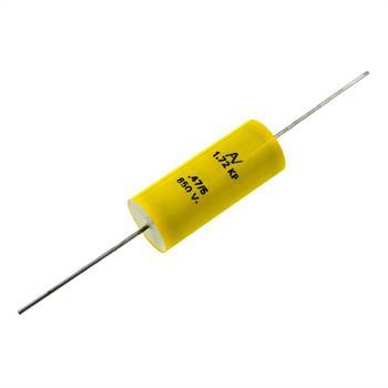 KP-Kondensator axial 0,47µF 850V DC ; 18x42mm ; A72ZX3470ZA00J ; 470nF
