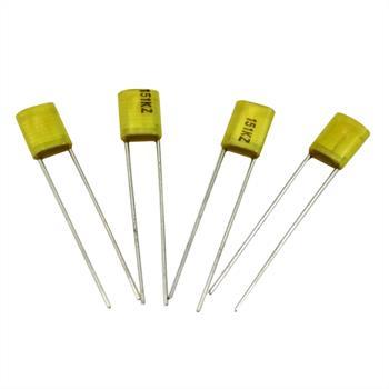 MKT-Capacitor rad. 150pF 100V DC ; 3,5mm ; AMZ151KEL0000AA