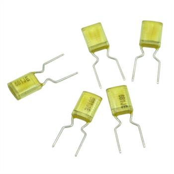 MKT Folien Kondensator Radial 0,00068µF 100V DC Arcotronics AMZ681JEF0050AA 0,68nF