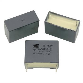 MKP-Kondens. rad. 0,47µF 310VAC RM22,5