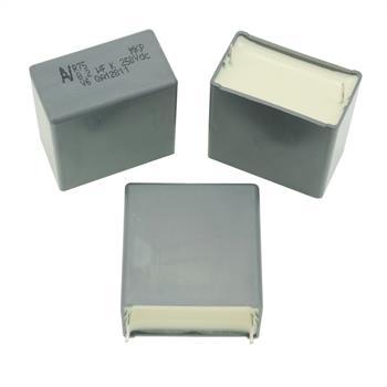 MKP-Kondens. rad. 8,2µF 250VDC RM27,5